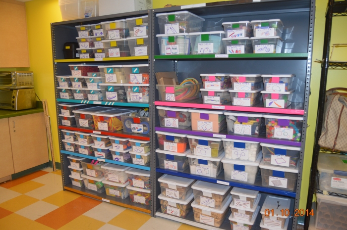 Color Coded Clean Up Organizing Your Makerspace