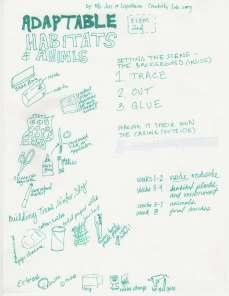 Adaptable Habitats and Animals
