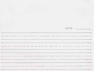 (D-2a) Making Journals ELEM Resource WRITE & SKETCH BLANK